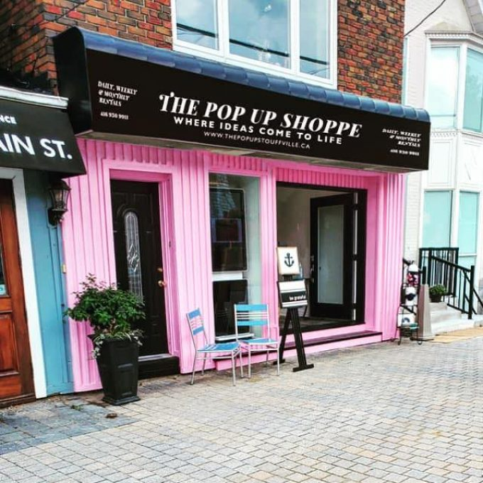 The Pop Up Shoppe Stouffville