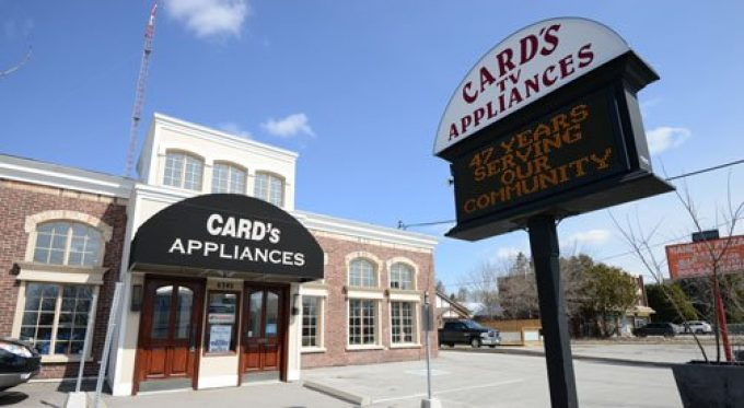 Card's Appliances and Televisions